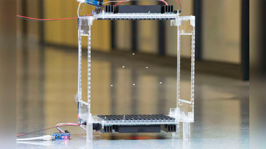 Científicos logran que objetos leviten de manera separada con ondas de sonido