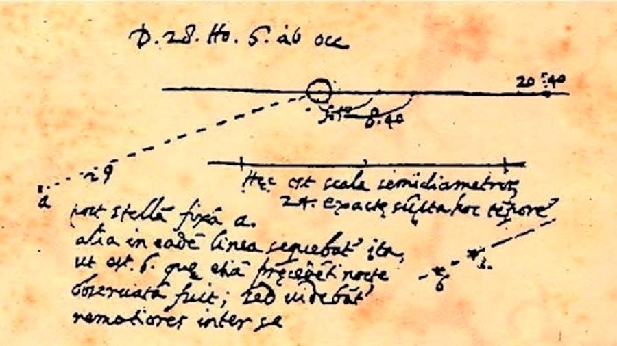 Galileo descubrió Neptuno sin saberlo hace 406 años