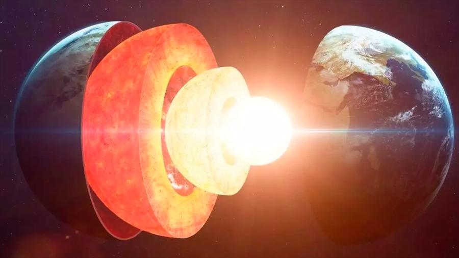 Científicos australianos confirman la solidez del núcleo interno de la Tierra