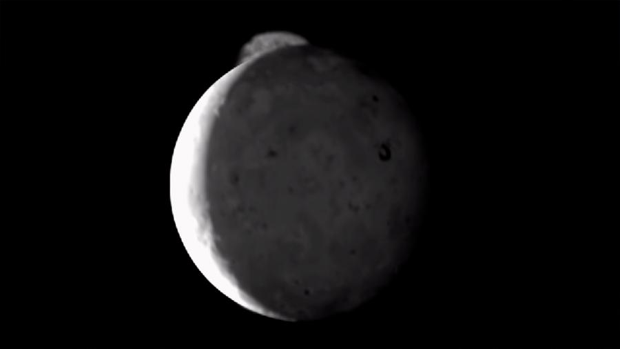 La nave Juno observa una erupción volcánica en la luna Io de Júpiter