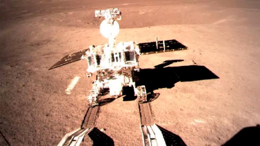 Aterriza sonda china Chang'e 4 en la cara oculta de la Luna