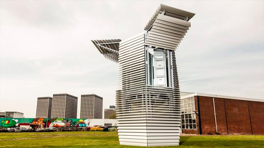 Un aspirador gigante (mide 7 pisos) podría limpiar el aire contaminado