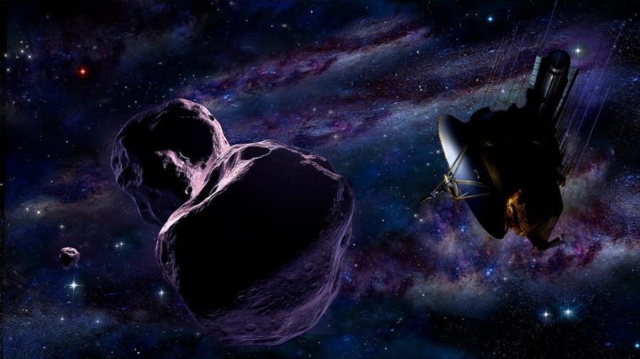 La NASA anuncia que Ultima Thule no muestra rastros de atmósfera o satélites naturales en su entorno
