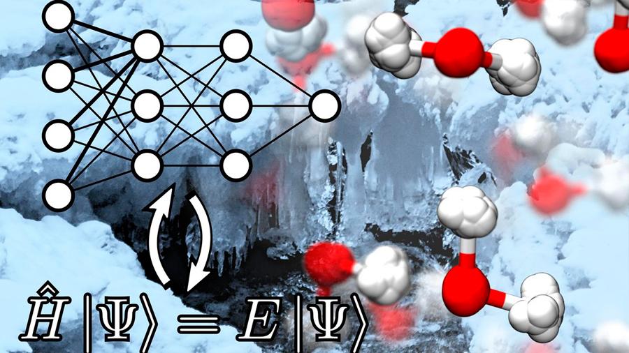 Descubren cómo se articula el agua a nivel cuántico