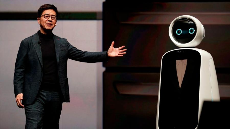 Robots y vehículos autónomos son protagonistas en feria tecnológica de Las Vegas, la mayor del mundo