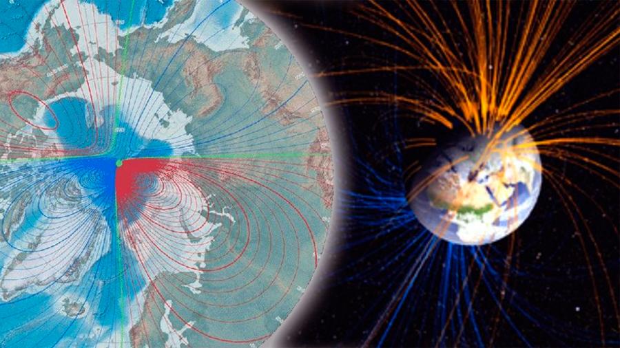 El Polo Magnético de la tierra está cambiando a gran velocidad y nadie sabe por qué