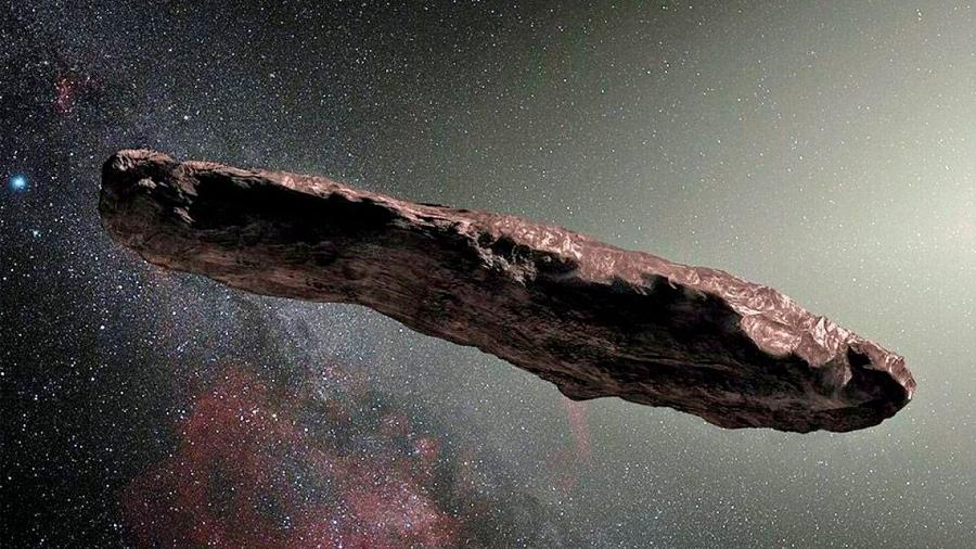 El extraño asteroide interestelar Oumuamua no sería tan poco común como se pensaba