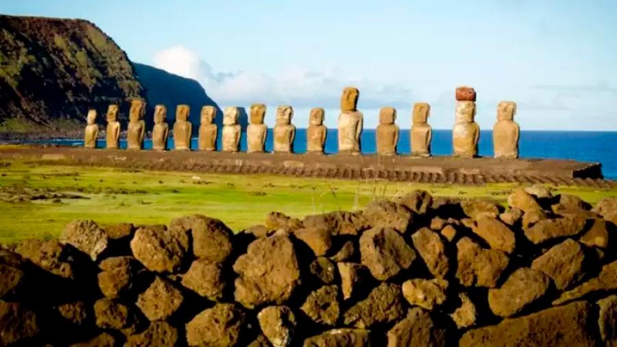 Científicos resuelven el misterio de la extraña ubicación de las estatuas de la Isla de Pascua