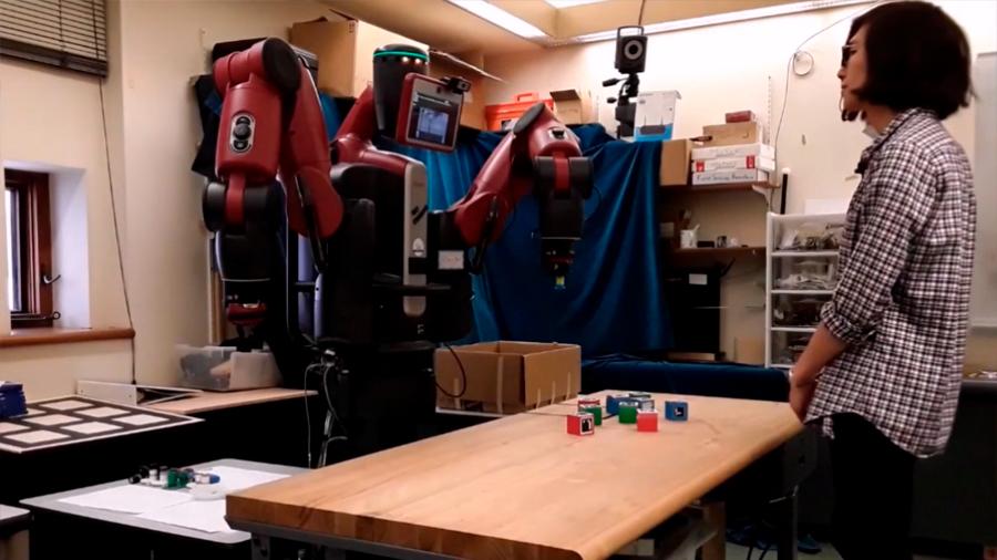 Crean un robot con … ¡sentido de la propiedad!