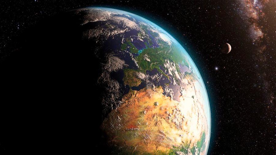 Megacolisión planetaria pudo haber formado la Luna y hecho posible la vida en la Tierra