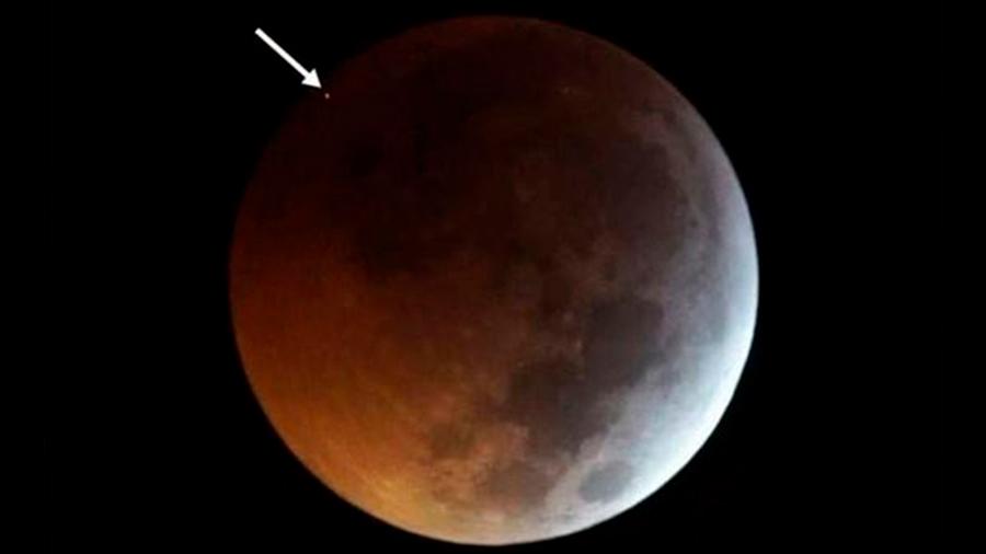Primer impacto en la Luna registrado durante un eclipse