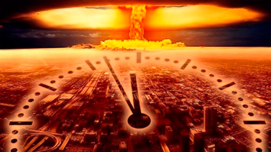El 'Reloj del Juicio Final' por una catástrofe nuclear sigue más cerca que nunca del apocalipsis