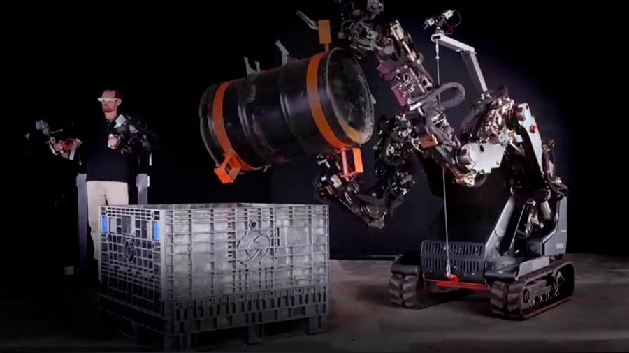 Un exoesqueleto multiplica por 20 la fuerza humana
