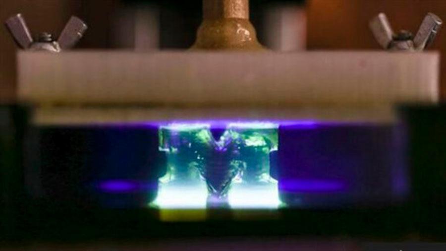 La impresión en 3D con luz se vuelve cien veces más rápida