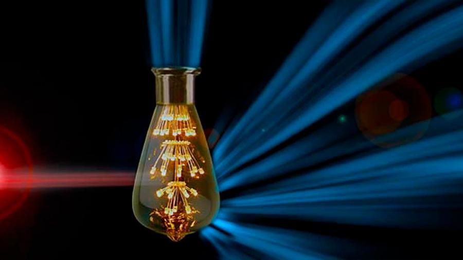 Crean nuevos materiales que convierten la luz visible en luz infrarroja