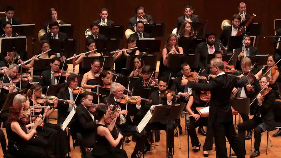 Los músicos se comunican de forma no verbal durante un concierto