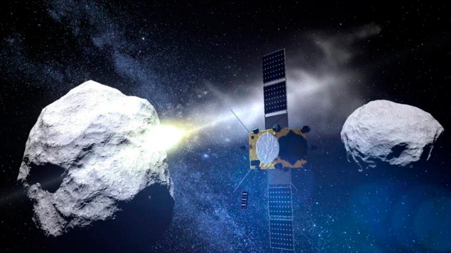 Por primera vez en la historia, la NASA intentará desviar un asteroide