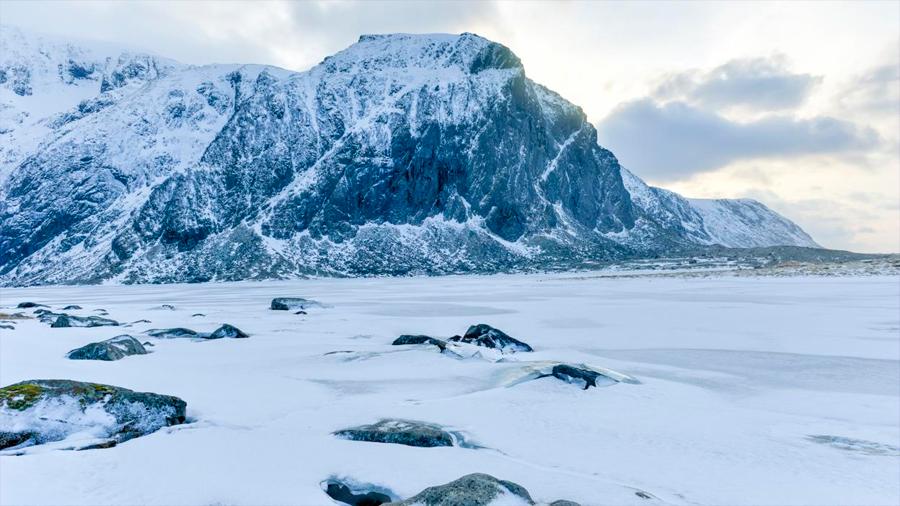Descubren huellas de superbacterias en el Ártico