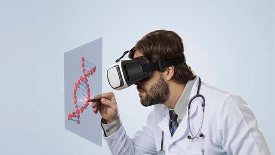 La realidad virtual permite simular el ADN en 3D
