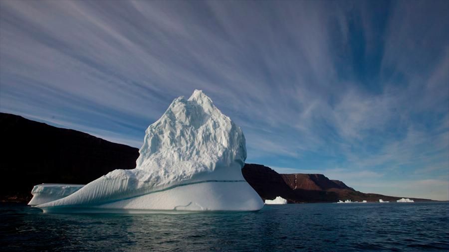 El deshielo en el ártico canadiense está revelando paisajes que no se veían hace más de 40 mil años