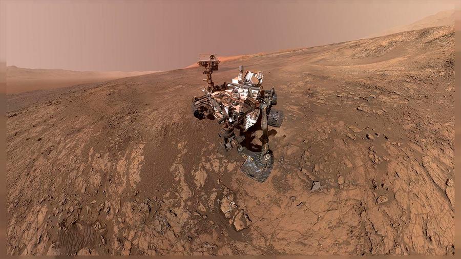 """Curiosity logra medir el """"tirón gravitacional"""" de Marte y halla una densidad menor a la esperada en sus montañas"""