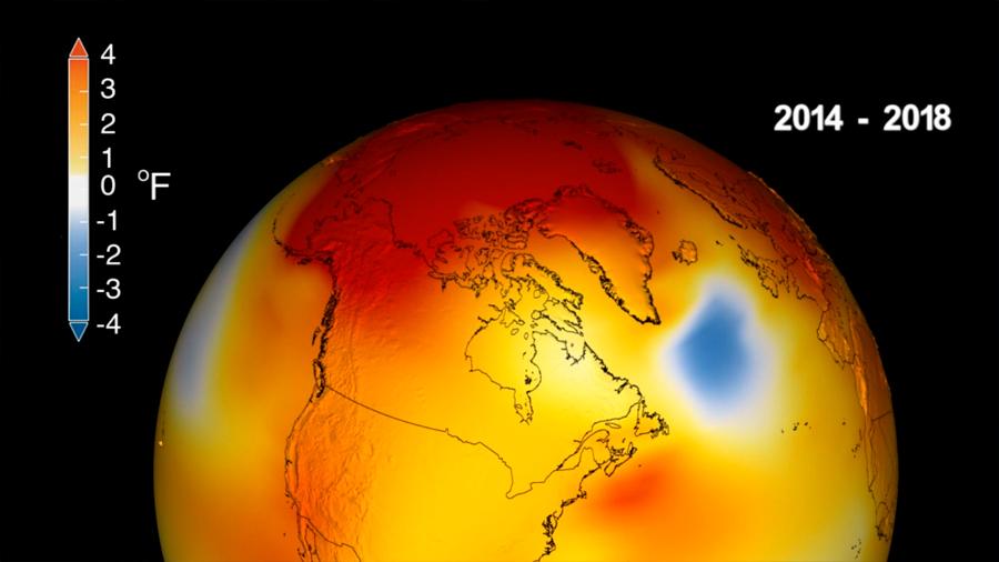 Se confirma que 2018 fue el cuarto año más cálido desde 1880