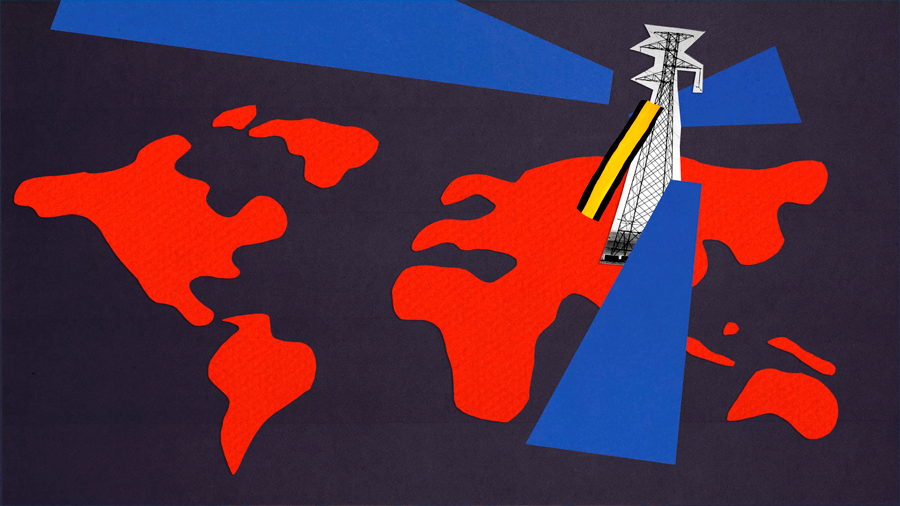 China intenta dominar el mundo con una gran red de transmisión eléctrica: 1.1 millones de voltios