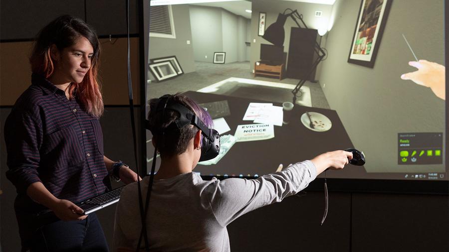La realidad virtual ayuda a remover consciencias