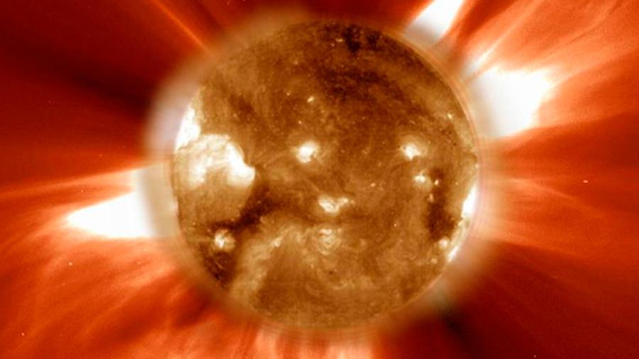 Ondas sonoras del interior solar excitan su campo magnético