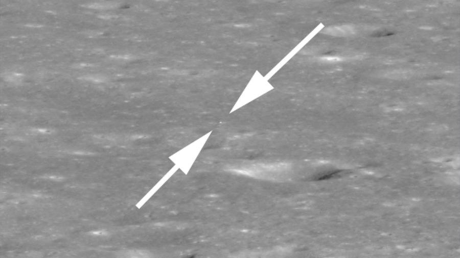 La NASA localiza la nave china Chang'e 4 en la cara oculta de la Luna