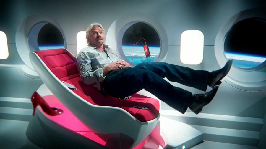 El dueño de Virgin Galactic planea un viaje al espacio en julio