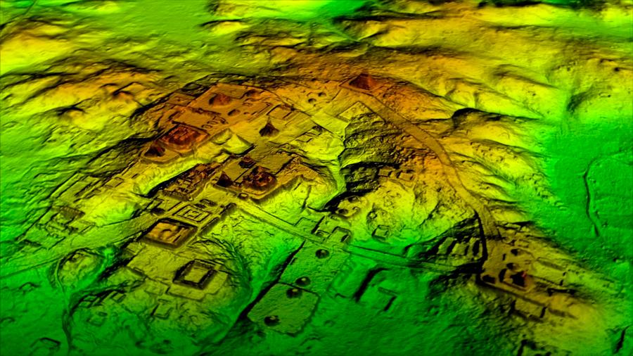 Descubren una gigantesca ciudad Maya en la frontera selvática de México y Guatemala