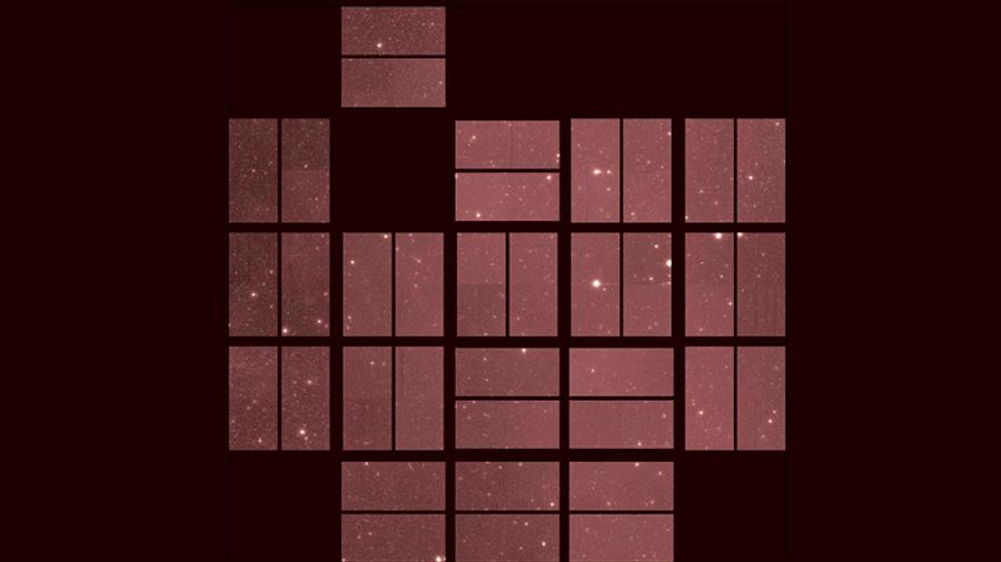 La última imagen del telescopio espacial Kepler antes de que la NASA lo desactivara
