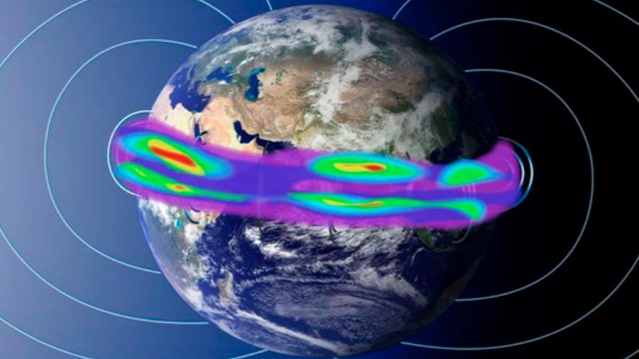 Demuestran, por primera vez, que el escudo magnético vibra como un tambor