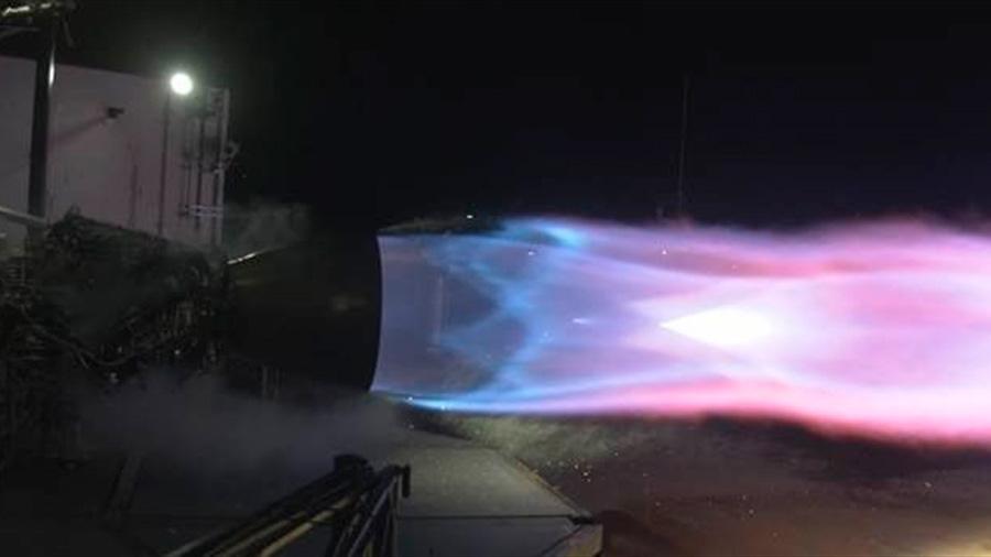 El motor de Space X para ir a Marte bate marcas de rendimiento