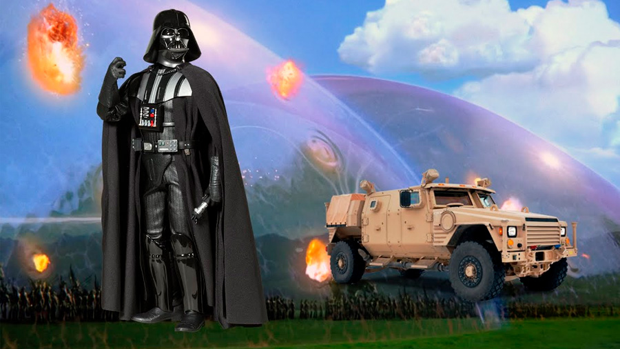 ¿Un vehículo militar protegido por un campo de fuerza? Boeing cree que es viable