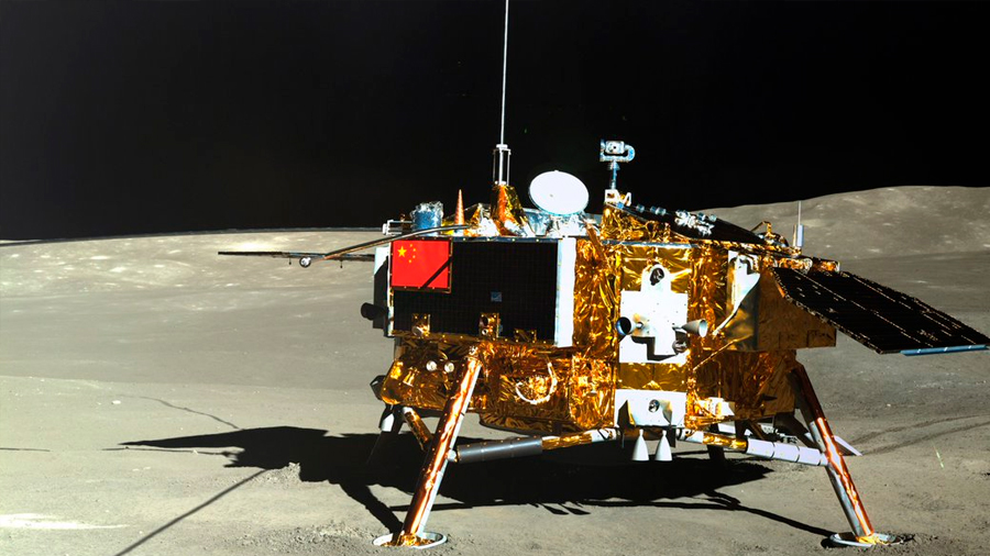 """La sonda china Chang'e-4 cambia de nuevo al modo inactivo … """"despertara"""" el día 28"""