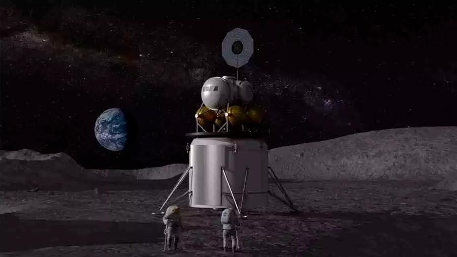 Planea NASA nueva misión a la Luna; duraría 50 años