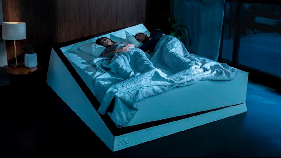 Crean cama inteligente que regresa a tu pareja a su carril cuando invade el tuyo