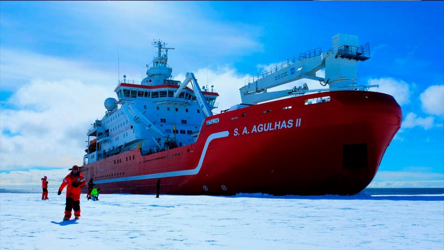 Una nueva expedición sufre la 'maldición' de Shackleton en la Antártida