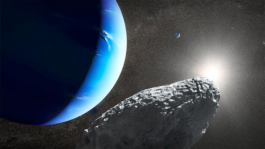 La luna imposible de Neptuno ya tiene explicación científica