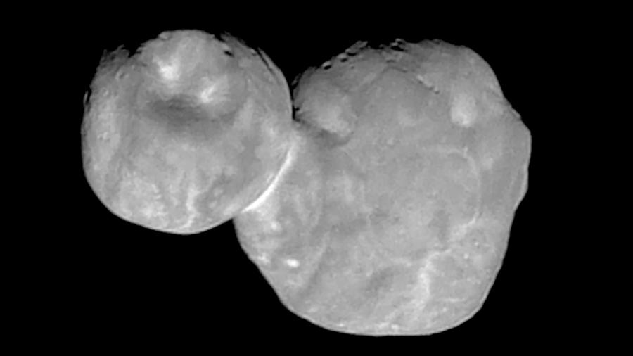 La nave New Horizons envía las imágenes más nítidas de Última Thule
