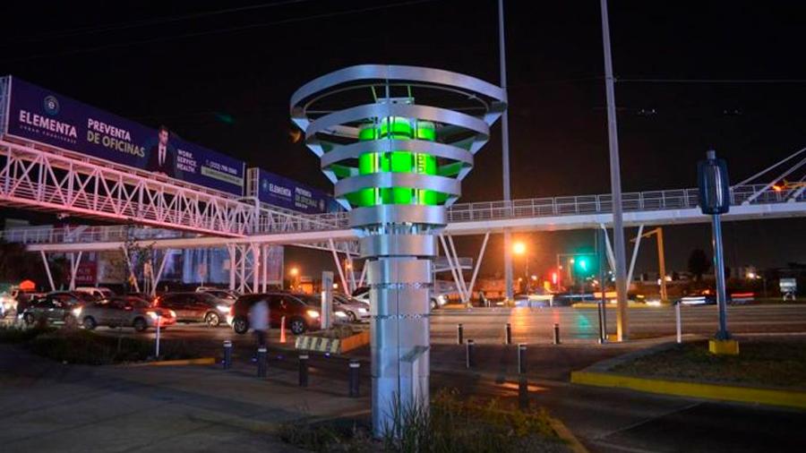 Logro mexicano: torres de microalgas filtran el aire como lo harían 400 árboles