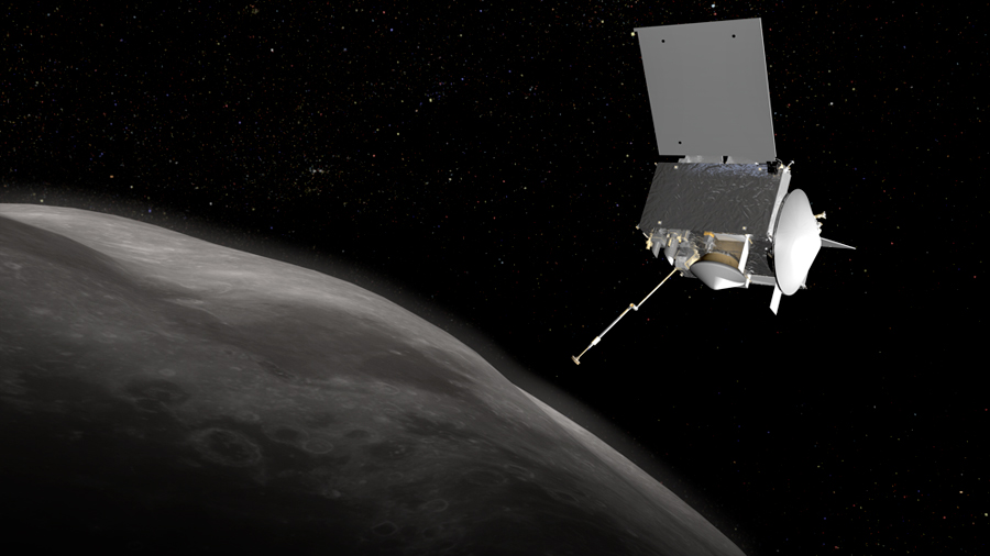 Las rocas de un asteroide ponen en peligro una misión de la NASA