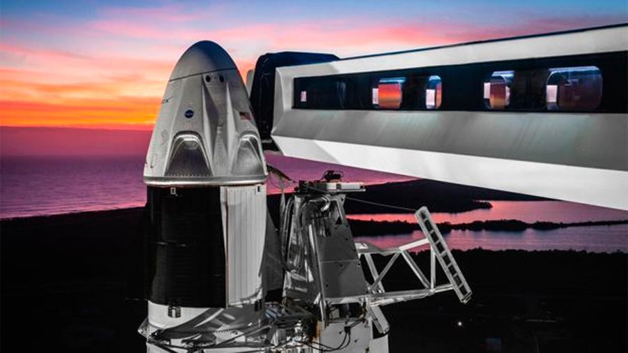 Módulo Dragon, la nave con que Elon Musk quiere llevar astronautas a la Estación Espacial Internacional