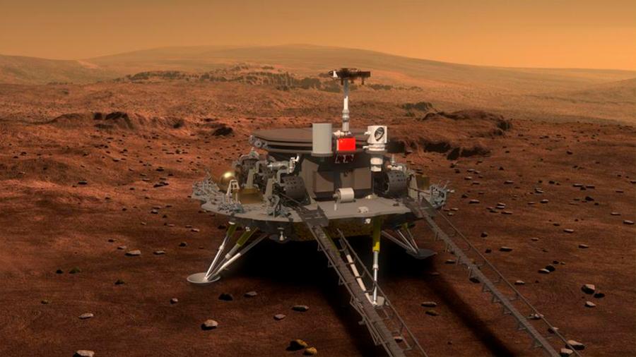 China anuncia una misión robótica a Marte tan pronto como el próximo año