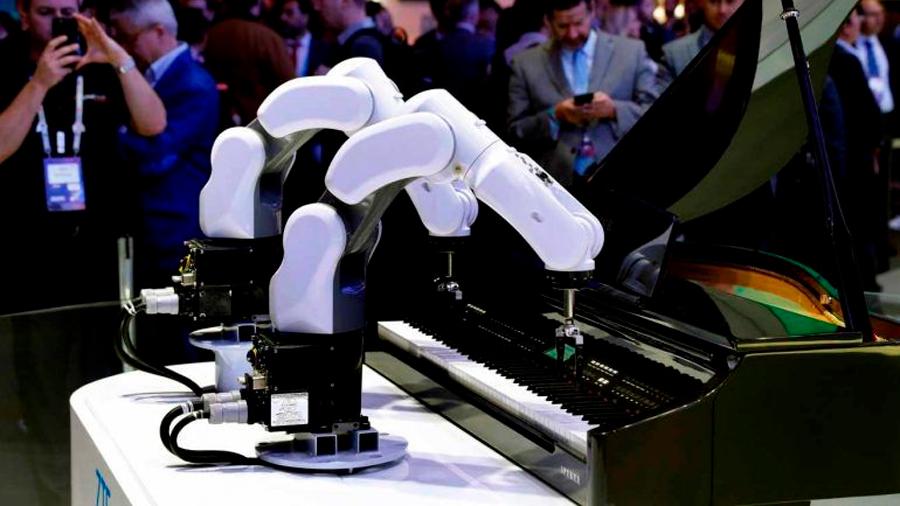 Conoce los robots más curiosos del congreso mundial del ramo
