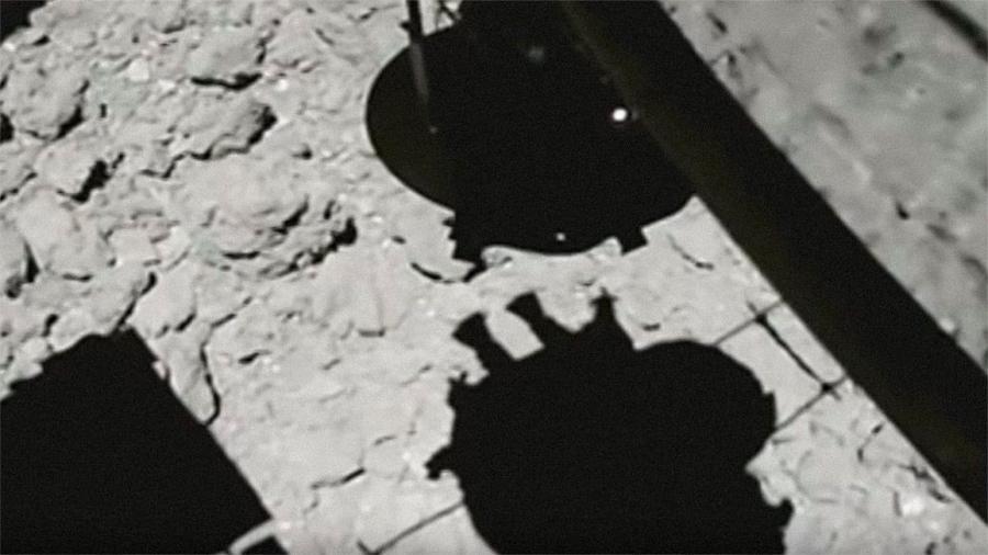 Japón difunde el vídeo de su aterrizaje en el asteroide Ryugu