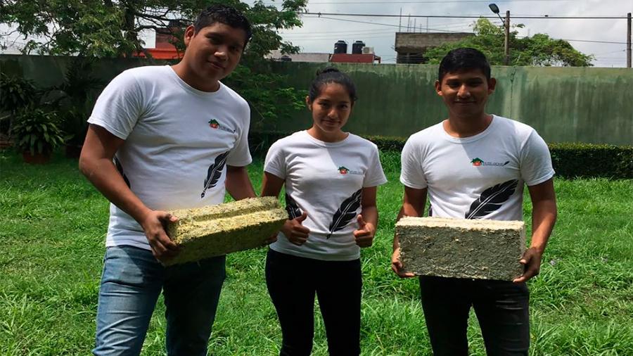 Estudiantes desarrollan concreto utilizando PET que cumple con las normatividades de construcción