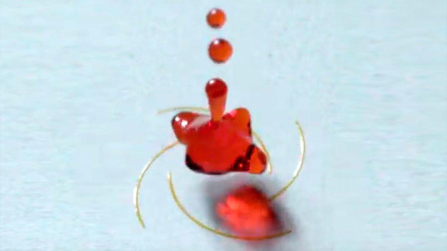 Científicos chinos hacen girar a las gotas de agua como bailarinas: 7,300 rpm